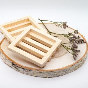 Мыльница одинарная деревянная — Мария Захарова