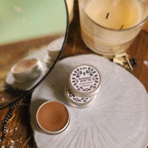 Бальзам для губ в баночке «Шоколадный Брауни» — Elska Cosmetic — 15 гр