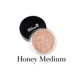 Минеральная пудра-основа Honey Medium — Anaminerals — 4,8 гр