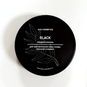 Твердый шампунь BLACK — AIVA COSMETICS — 50 гр