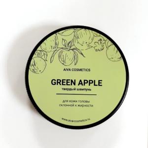 Твердый шампунь GREEN APPLE — AIVA COSMETICS — 50 гр