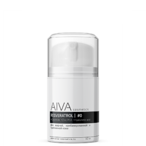 Восстанавливающий крем с ресвератролом #0 для жирной кожи — AIVA COSMETICS — 30 мл