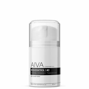 Восстанавливающий крем с ресвератролом #2 для нормальной кожи и сухой кожи — AIVA COSMETICS — 30 мл