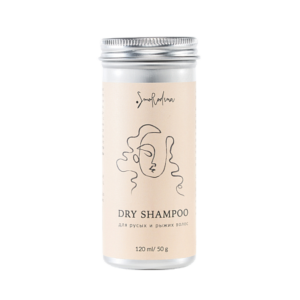 Сухой шампунь для русых и рыжих волос — Smorodina — 50 гр