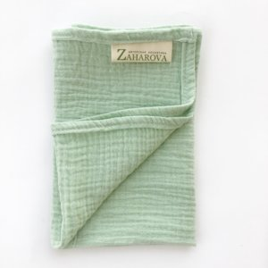 Муслиновое полотенце для лица «Вода» — Мария Захарова