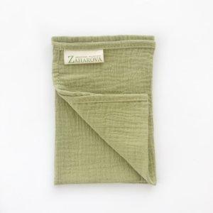 Муслиновое полотенце для лица «Олива» — Мария Захарова