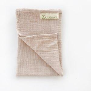 Муслиновое полотенце для лица «Роза» — Мария Захарова